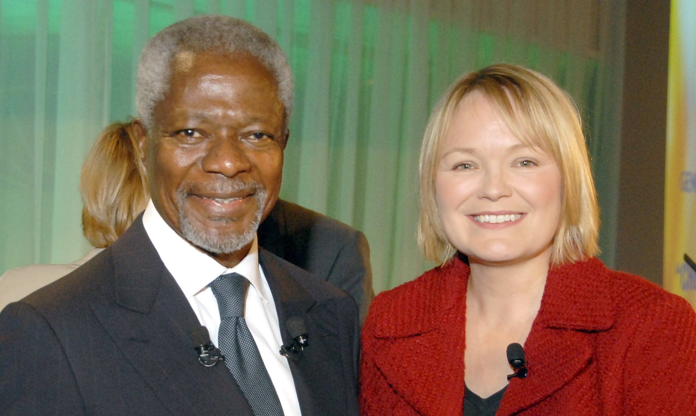 Kofi A. Annan – 'An African at heart, but a global citizen, symbolising the best of humanity'.