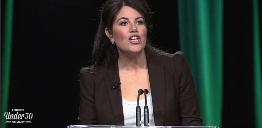 Out of the shadows: Monica Lewinsky speaks