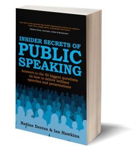 Insider Secrets of Public Speaking Book